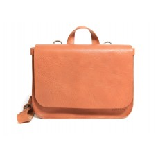 Dallas - F1253 - Natural Leather Postal Bag