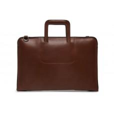 Jackson - Z1282 - Leather Zippered Briefcase