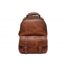 Graham - Z1267 - Leather Commuter Backpack