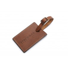 Miller - R1249 - Leather Luggage Tag