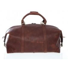 """Lux Twain - L1043 - 22"""" Leather Duffel"""