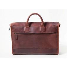 Sawyer - Z1223 - Slim Leather Laptop Briefcase