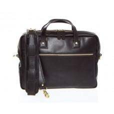 Lux Wesley - Z1238 - Slim Leather Briefcase